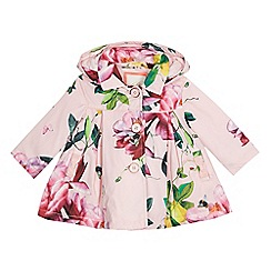 Baker by Ted Baker - Baby girls' pink floral print jacket
