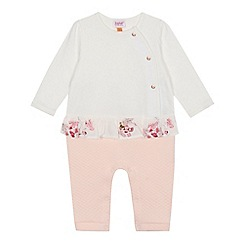 Baker by Ted Baker - Baby girls' frill quilted romper