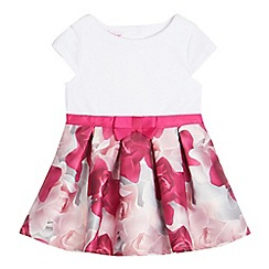 Baker by Ted Baker - Baby girls' floral print mock dress