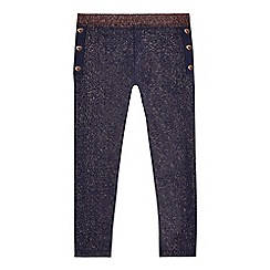 Baker by Ted Baker - Girls' navy leggings
