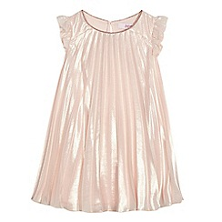 Baker by Ted Baker - Girls' light pink pleated dress