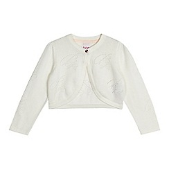 Baker by Ted Baker - Girls' white knitted cardigan