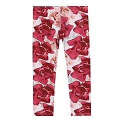 Baker by Ted Baker - Girls' pink rose print leggings