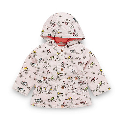 Baker by Ted Baker - Babies pink bird coat