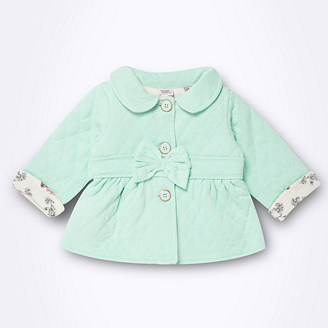 Baker by Ted Baker - Babies aqua sweat jacket