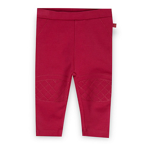 Baker by Ted Baker - Babies pink biker leggings