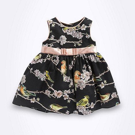 Baker by Ted Baker - Babies black mixed bird prom dress