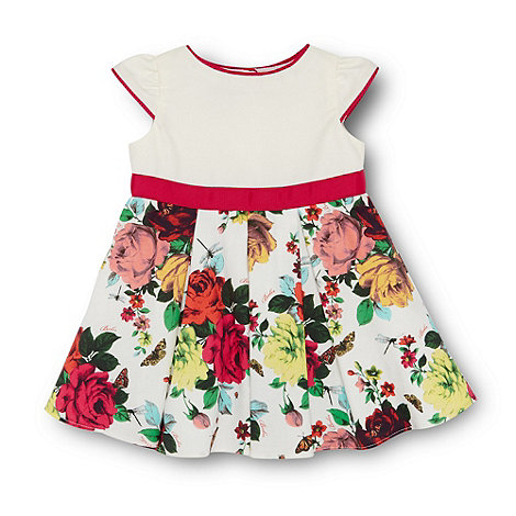 Baker by Ted Baker - Babies off white floral party dress