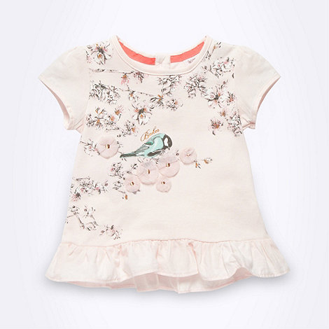 Baker by Ted Baker - Babies pink bird t-shirt