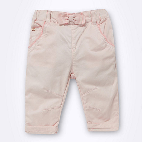 Baker by Ted Baker - Babies pink casual trousers