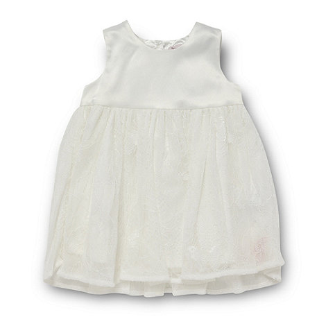 Baker by Ted Baker - Babies cream lace skirt dress