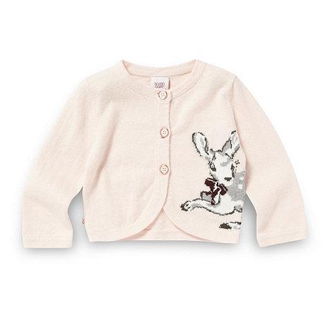 Baker by Ted Baker - Babies pink deer cardigan