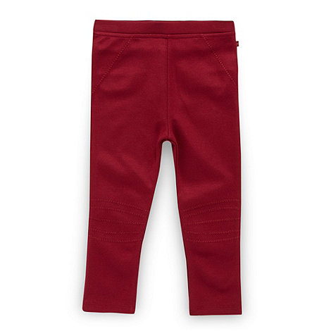Baker by Ted Baker - Babies plum jersey leggings
