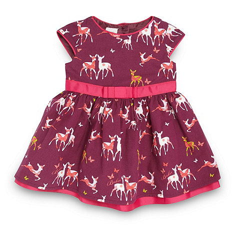 Baker by Ted Baker - Babies plum deers dress