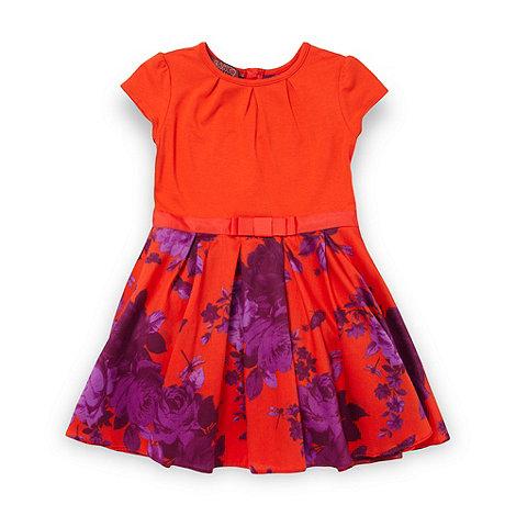 Baker by Ted Baker - Girls orange rose dress