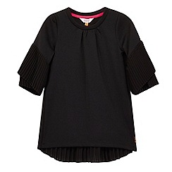 Baker by Ted Baker - Girls' black pleated top