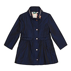 Baker by Ted Baker - Girls' navy shower resistant parka