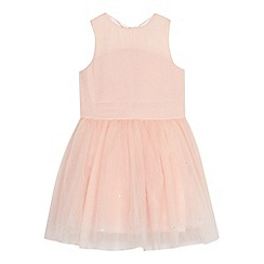 Baker by Ted Baker - Girls' light pink tulle dress