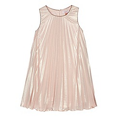 Baker by Ted Baker - Girls pink pleated dress