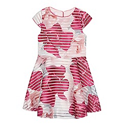 Baker by Ted Baker - Girls' pink floral lace dress