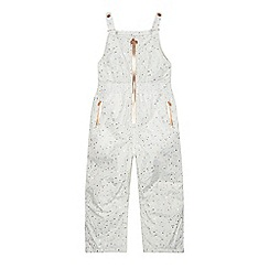 Baker by Ted Baker - Girls' off white printed salopettes