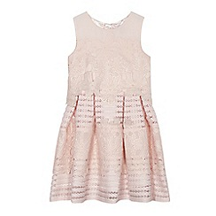 Baker by Ted Baker - Girls' pink lace dress