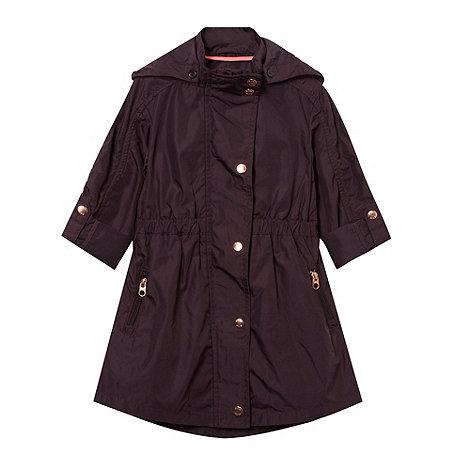 Baker by Ted Baker - Girl+s purple windcheater jacket