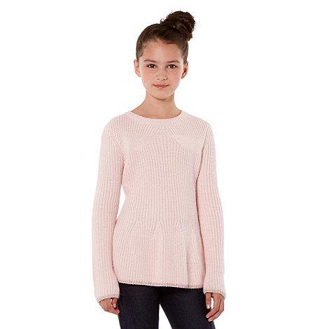 Baker by Ted Baker - Girl+s pink peplum jumper