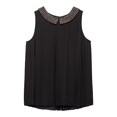 Baker by Ted Baker - Girl+s black pleated top