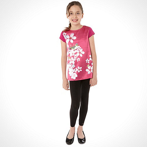 Baker by Ted Baker - Girl+s top and leggings set