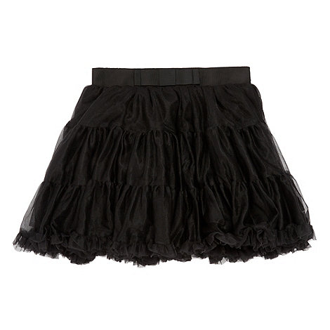 Baker by Ted Baker - Girl's black tutu skirt