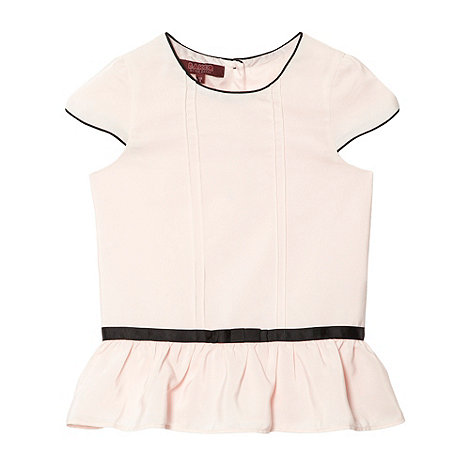 Baker by Ted Baker - Girl+s pink peplum top
