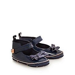 Baker by Ted Baker - Baby girls' navy patent shoes