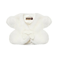 Baker by Ted Baker - Girl's off white bow bolero