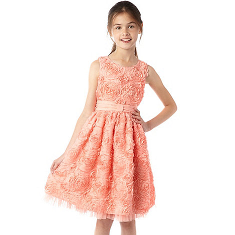 Baker by Ted Baker - Girls Peach Cornelli Dress