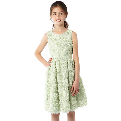 Baker by Ted Baker - Girl+s green cornelli dress