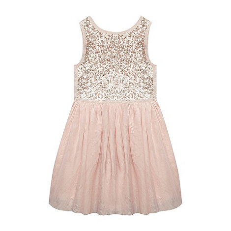 Baker by Ted Baker - Girl's light pink ballerina dress