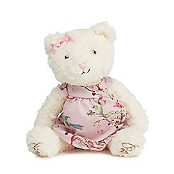Baker by Ted Baker - Off white teddy bear in a dress