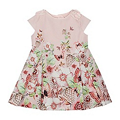 Baker by Ted Baker - Baby girls' light pink floral print prom dress