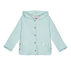 Baker by Ted Baker - Girls' light blue quilted jacket