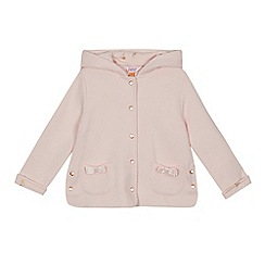 Baker by Ted Baker - Girls' light pink quilted jacket