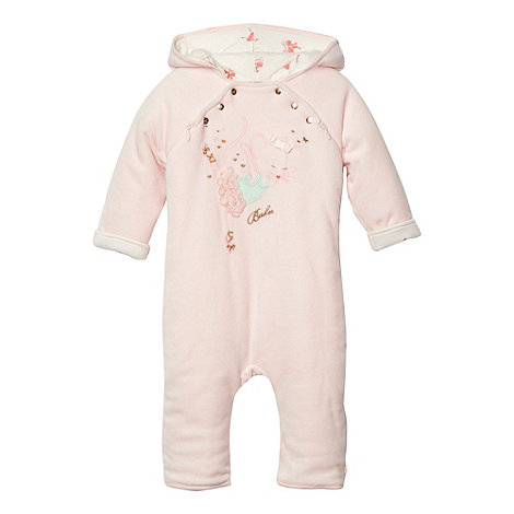 Baker by Ted Baker - Babies pink mouse pram suit