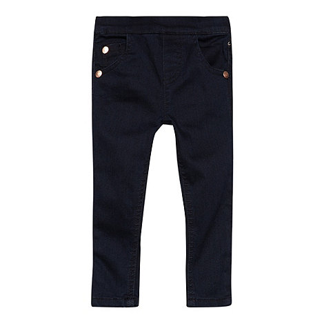 Baker by Ted Baker - Girl+s dark blue extra stretchy skinny jeans