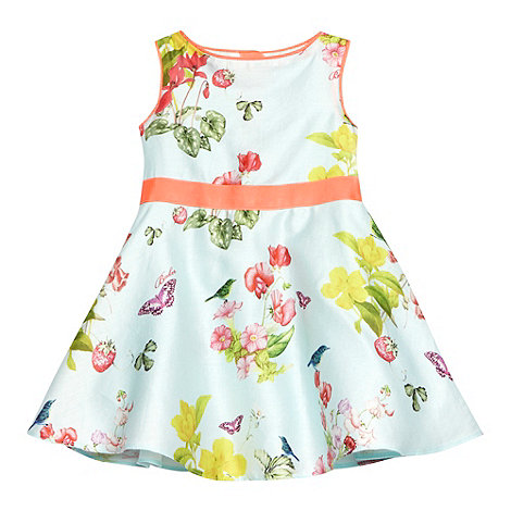Baker by Ted Baker - Babies pale green floral dress