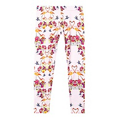 Baker by Ted Baker - Girl's light pink orchid leggings