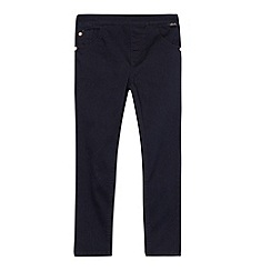 Baker by Ted Baker - Girl's dark blue extra stretchy skinny jeans