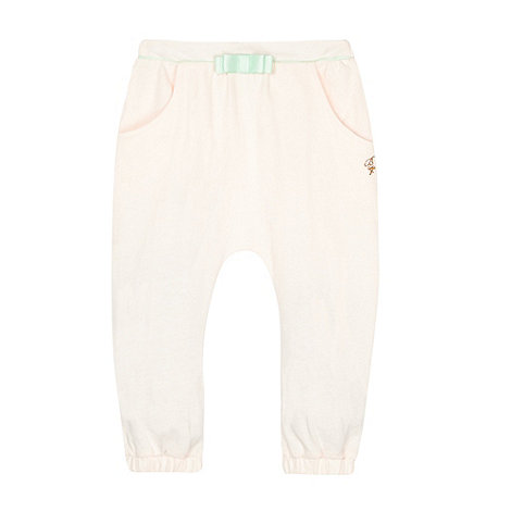 Baker by Ted Baker - Babies light pink bow detail hareem pants