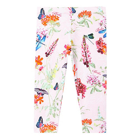 Baker by Ted Baker - Babies pink dragonfly leggings