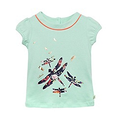 Baker by Ted Baker - Babies light green dragonfly top