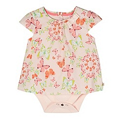 Baker by Ted Baker - Babies light pink butterfly bodysuit